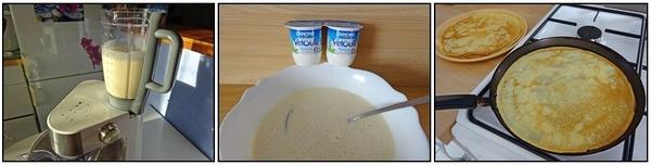 Crêpes au yaourt