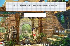 Jeux en ligne - le verbe