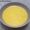 velouté de courgette patate douce et épices au tmix