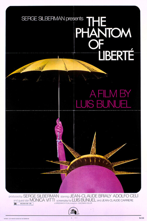 LE FANTOME DE LA LIBERTE BOX OFFICE USA 1974