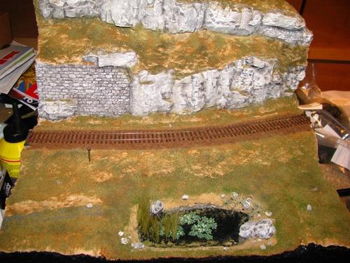 Un diorama d'essai : 15. Faisons pousser de l'herbe