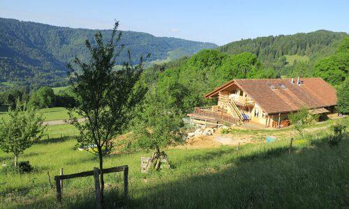 Centre La Maison de Paille à Essertfallon près de Saint-Ursanne
