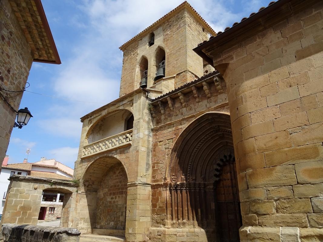 Le 21 juillet: d'Uterga au monastère cistérien Santa maria de José, 20,2 Km - 2