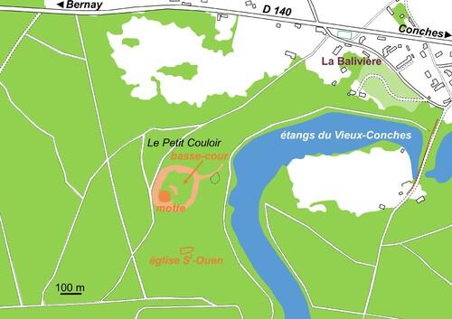 LES REMPARTS DE VIEUX-CONCHES (Eure)