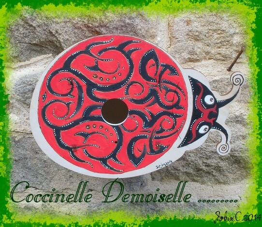 Nichoir Coccinelle Esprit Tribal