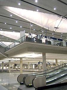 YUL international public arrivals hall