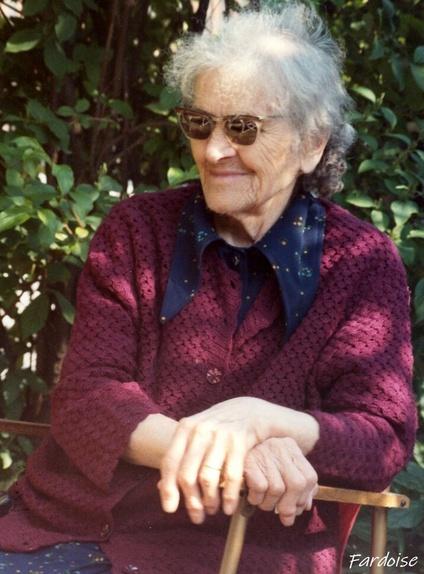 Portrait de ma grand-mère