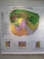 Exposition à la médiathèque sur les minéraux (1)
