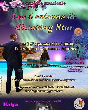 Shooting Star présente sa nouvelle comédie musicale