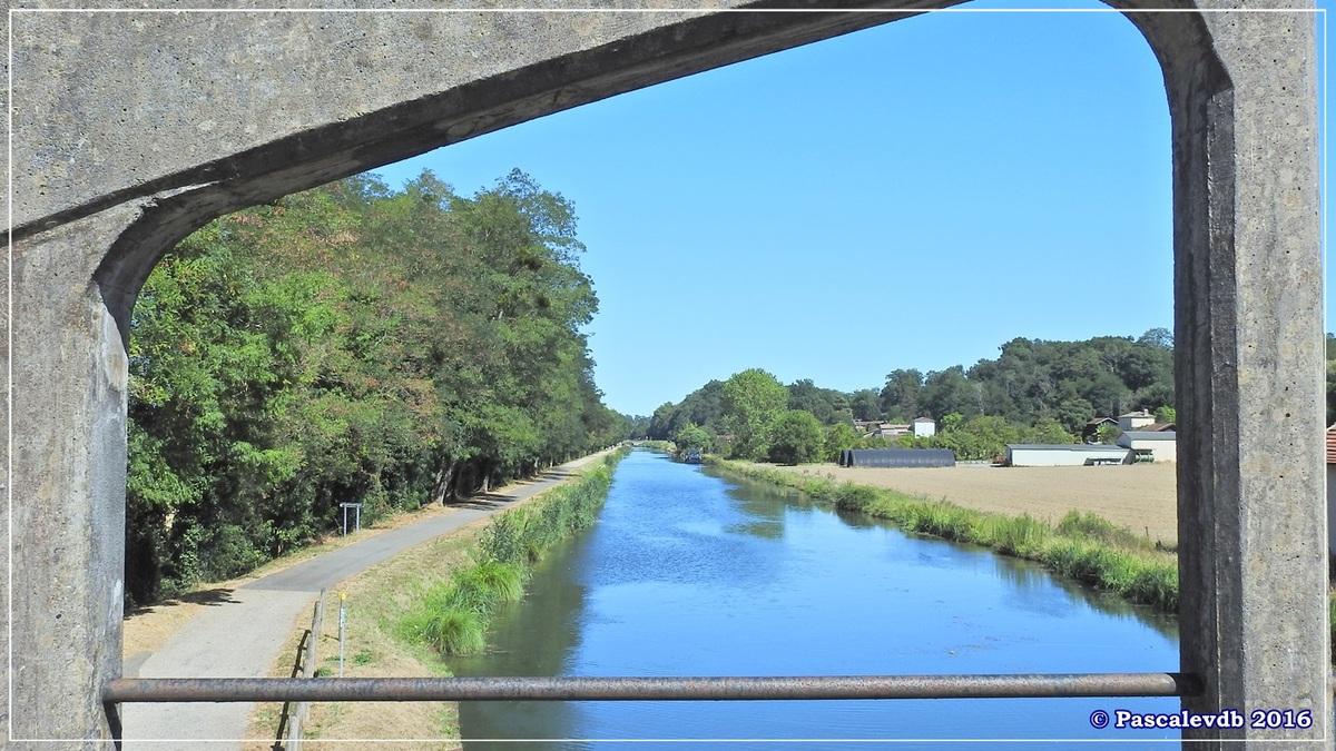 Le long du canal latéral à la Garonne - Août 2016 - 5/12