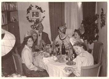 Etiennette, Louis, Maurice, Madeleine, moi, Christiane