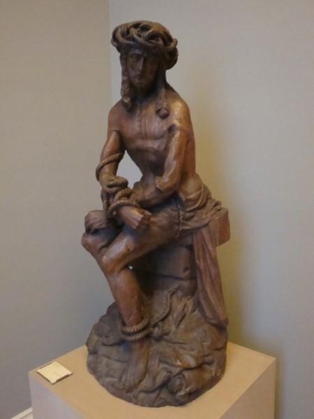 Christ aux liens (bois sculpté) Musée de Rouen