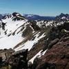 Du sommet du Garmo de Izás (2515 m), le pico Arroyeras ou Arroyetas