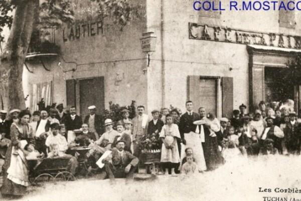 Coll R.Mostacchi-Tuchan- Café de la Paix (Lautier)  - Rue des Anges