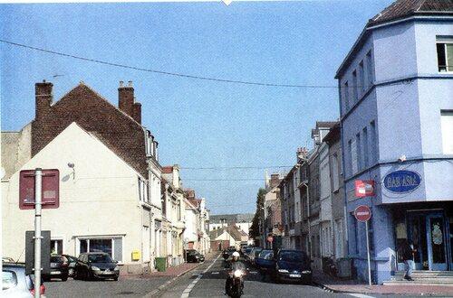 Bout de la rue des Fontinettes