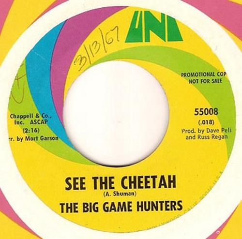 The Big Game Hunters : See The Cheetah