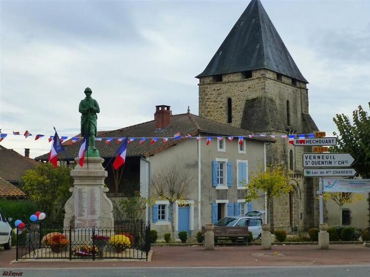 Pressignac en Charente,