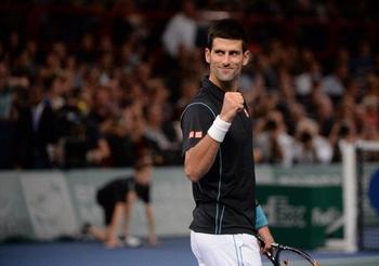 Novak Djokovic débarque en patron