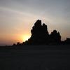 Lac Abhé Coucher de soleil