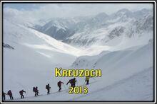 Au Kreuzjoch dans les Stubaier Alpen (Autriche)