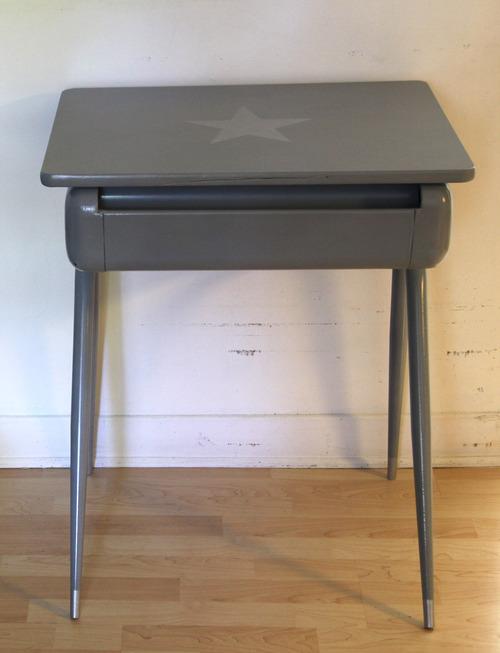 Collection GRIGRIS SOURIS : la métal gris étoile argent