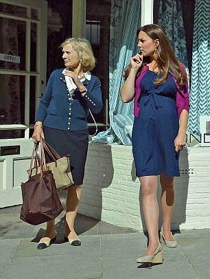 Kate fait des courses