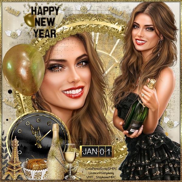 Bonne Année / Happy New Year 2020