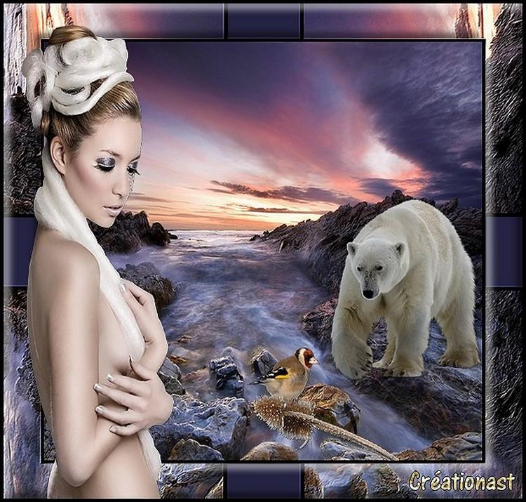 Création... Femme et Animaux