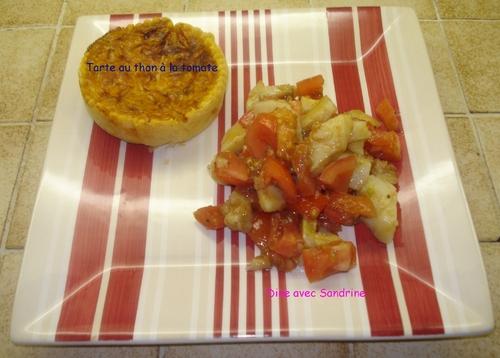 Des Tartes Individuelles au Thon à la Tomate
