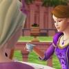 Buvant le thé avec les familles royales