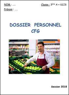 image rapport CFG élève