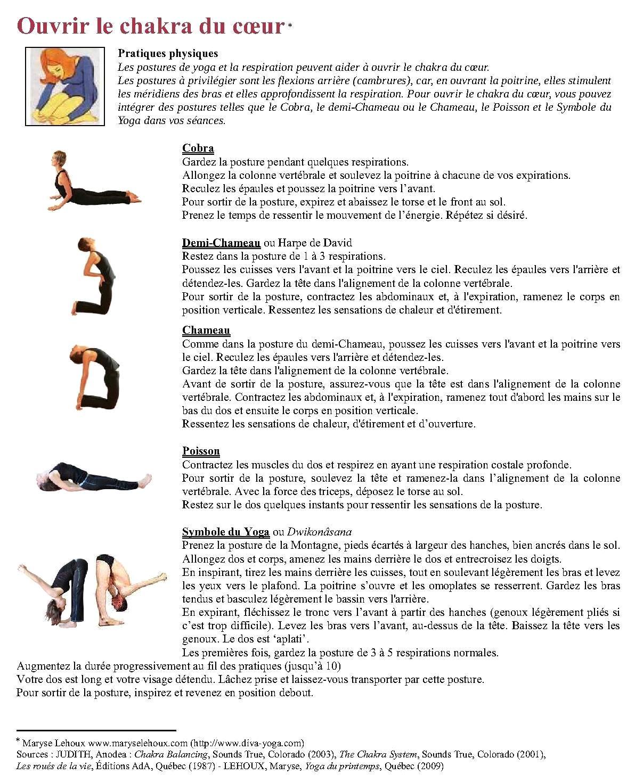 posture yoga chakra racine