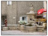 Fontaine place Banche de Cour