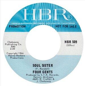 FOUR GENTS - SOUL SISTER - 1966  -