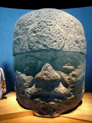 Mexico Musée Tête colossale