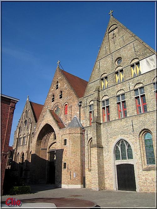 Bruges - Ancien hôpital Saint-Jean et musée Memling