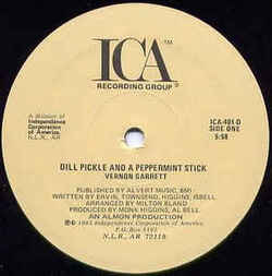 Vernon Garrett - Dill Pickle And A Peppermint Stick