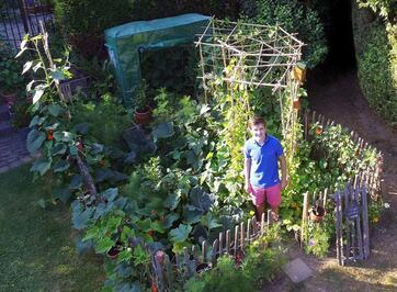 Jeune jardinier et permaculture : Arthur
