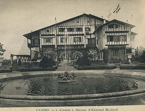 Villa Arnaga à Cambo-les-Bains