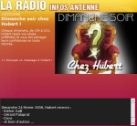 Emission sur radio Nostalgie