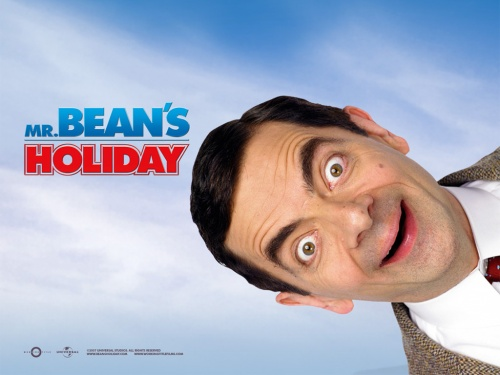 MR BEAN AT THE CINEMA.  Humour (Rubrique)