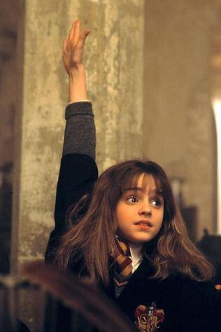 Emma Watson: Harry Potter à l'école des sorciers (11 ans):