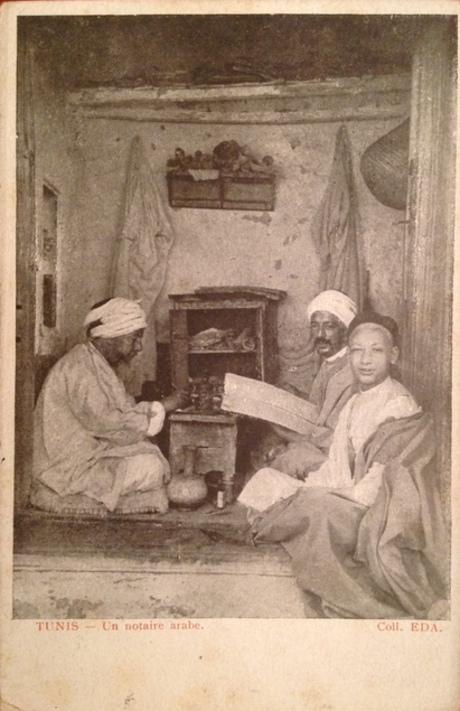 Le jeune clerc de l'étude du notaire arabe