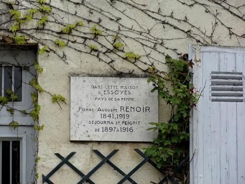 Sur les pas de Renoir, à Essoyes, avec Bernard Pharisien...