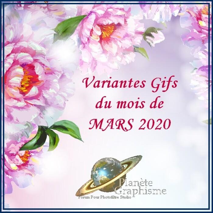 Cours et Variantes du mois de Mars 2020