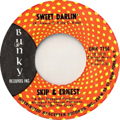 1967 : Single SP Bunky Records 7754 [ US ]