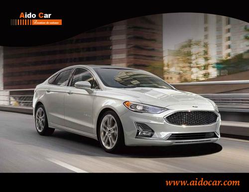 Location de voiture à Casablanca en promotion – Réservez votre Ford Fusion Automatique pour les prochaines vacances !