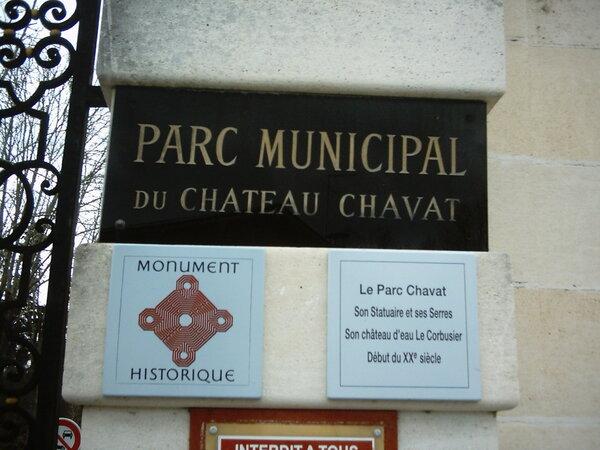 Carte de France des paysages(le parc chavat à Podensac Gironde)