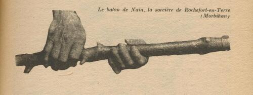 -Naïa (La sorcière de Rochefort-En-Terre/Morbihan)