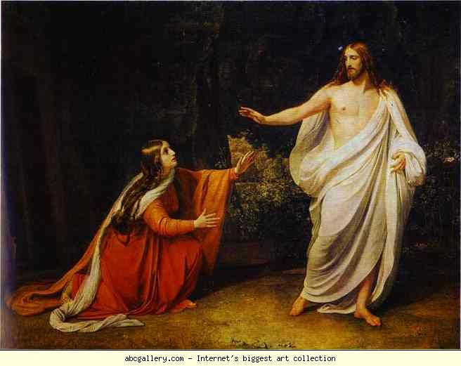 Alexander Ivanov. The Appearance of Christ to Mary Magdalene.